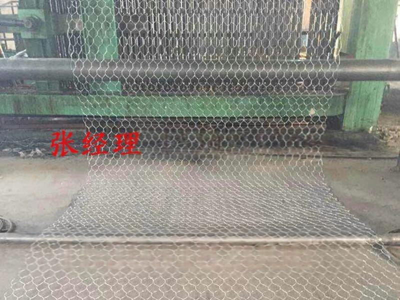 六角拧编河道护堤格宾石笼网 专业生产水利工程防护网