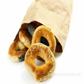 四边封口袋 食品包装纸 尖底纸袋 PE淋膜防油纸