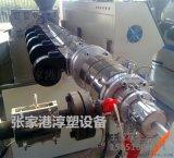 63-160mm PE/PP管材挤出生产线设备