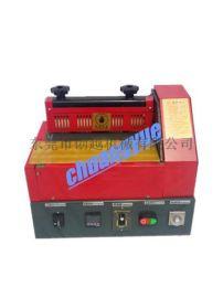 供应台式包装高温热熔胶过胶机 小型**滚胶热熔胶机