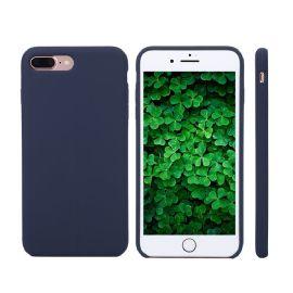 iphone8/8plus液态硅胶手机壳,液态硅胶包pc内贴超纤,研磨合模线