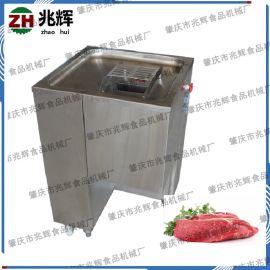 广东肇庆立式不锈钢切肉机 商用厨房 多功能切肉丝机