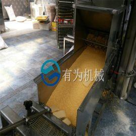 鱼肉饼成型设备 鱼饼上浆裹粉机 鱼饼虾饼生产线