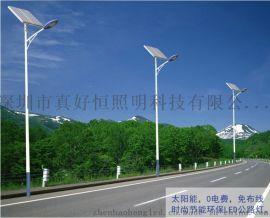 好恒照明新农村太阳能路灯户外灯6米家用led超亮100w乡村道路高杆灯庭院灯