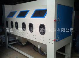 供应手动喷砂机 双工位手动打砂机 可订做非标机型