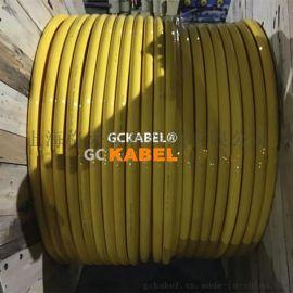抗拉耐磨高柔性扒渣机用移动电缆3X251X16平方