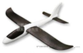 儿童航模特技版手抛泡沫飞机 48CM彩色手掷滑翔机
