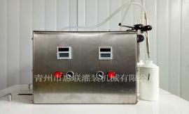 小型定量灌装机 半自动液体灌装机 电动白酒灌装机