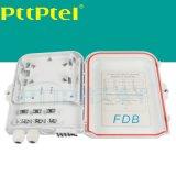 FDB-8芯插片式光分路器箱 FTTH分纤箱