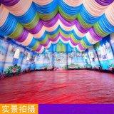 大型户外活动红白喜事婚宴大篷车流动餐厅酒席餐饮大棚充气帐篷房