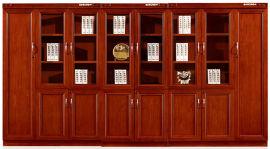 油漆木皮4门书柜文件柜38系列 绿色环保健康家具