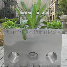 天津 不锈钢花盆加工定制 精品镀色不锈钢花盆直销