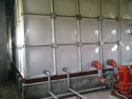 搪瓷水箱 移动水箱 玻璃钢方型水箱制作工艺