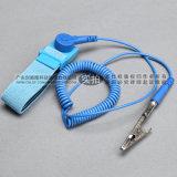 深圳 有线静电环 PVC蓝色有绳手腕带 防静电手环