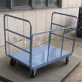 小推车双层推车周转箱双层捡货车钢板手推车