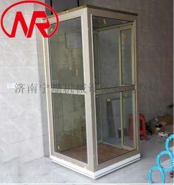 无底坑住宅家用小电梯 室内观光别墅家庭电梯