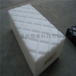 耐腐蚀塑料枕木 抗冲击聚乙烯枕木 塑料方棒