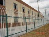 工业区工厂通透围栏,锌钢方管围栏