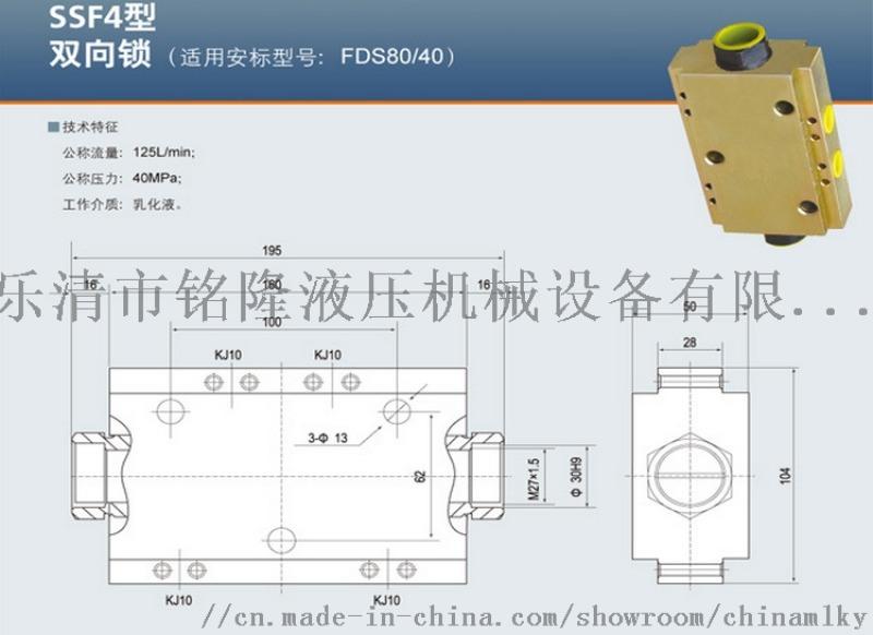 双向锁SS10SKS1 FDSBII FDS125