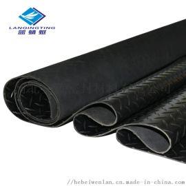 柳叶纹橡胶板柳叶纹防滑防水防潮耐磨橡胶地垫