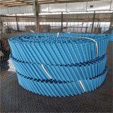 圆塔黑色PVC淋水片 阻燃型PVC圆塔填料 性能好