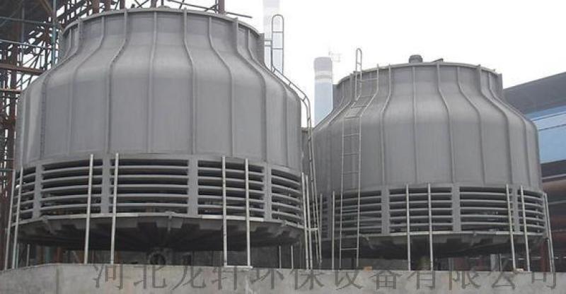 工业水塔 标准型冷却塔 圆形逆流式玻璃钢冷却塔