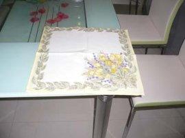 印花小方巾