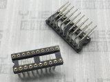 2.54mm IC 圆孔排母连接器 90度