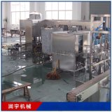 全自动桶装水生产线 5五加仑大桶水灌装线