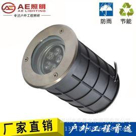 AEAE-DMD-02ALED戶外地埋燈可調角度牆角照牆燈戶外防水防水射燈不鏽鋼圓形