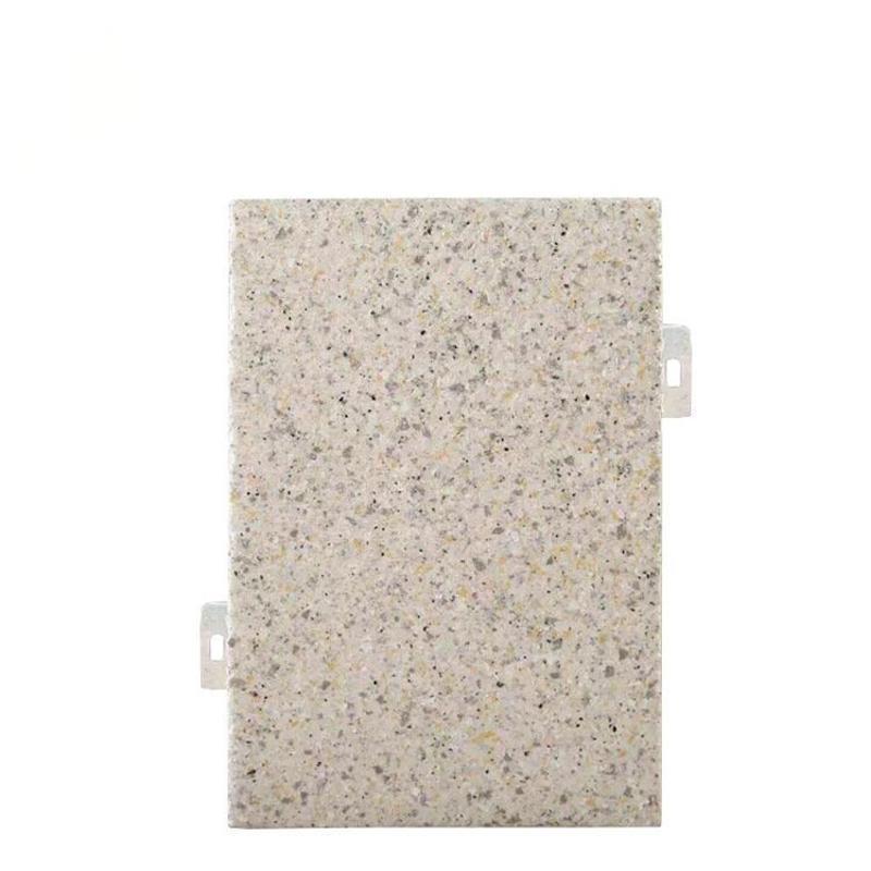 廠家定製石紋鋁單板規格真實漆大理石紋鋁單板
