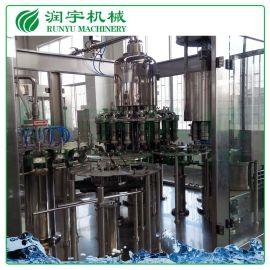 厂家现货供应牛奶灌装机,塑料瓶铝膜牛奶灌装机