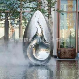 室外广场雕塑 不锈钢镜面雕塑 防晒不掉色不锈钢雕塑