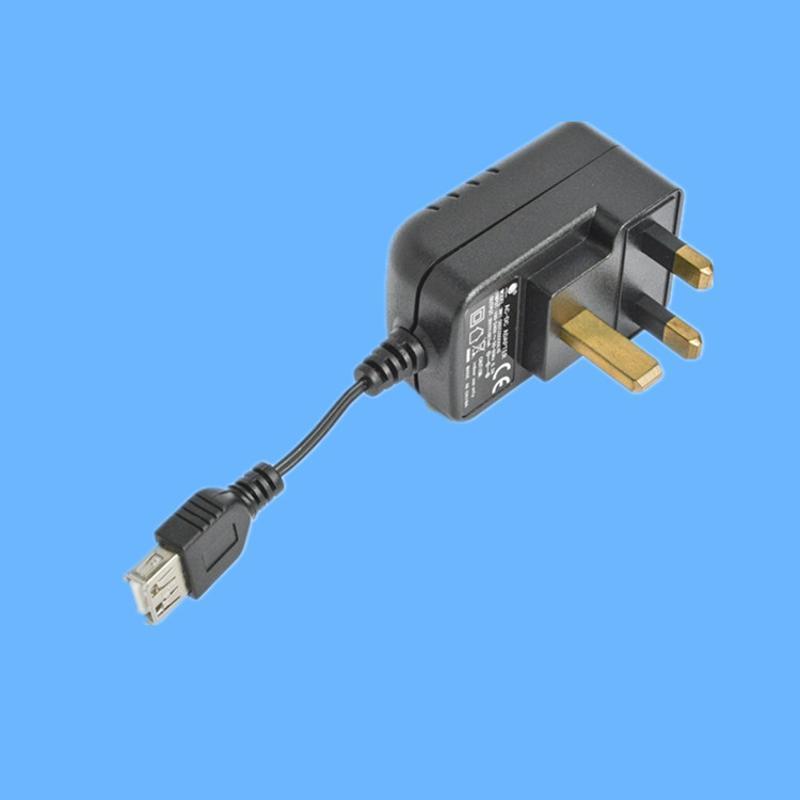 6W系列安规认证USB电源 机顶盒开关电源