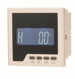 LEF818H型单相功率因数表嵌入式安装0.5级LED数码管显示厂家直销