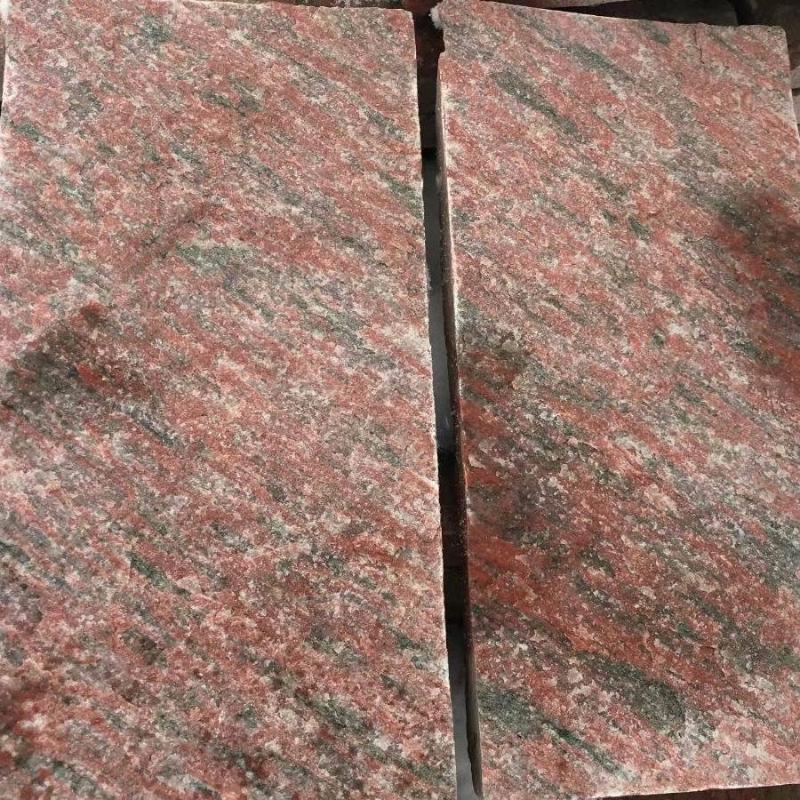厂家批发河北蘑菇石将 红文化石文化砖 将 红蘑菇石红色文化砖