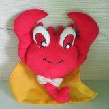 海洋公园毛绒公仔玩具 专业吉祥物毛绒公仔 30cm毛绒虾子玩具