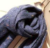 围巾纱毛腈彩点纱