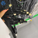 新安数据线激光镭雕机,线材激光打码机