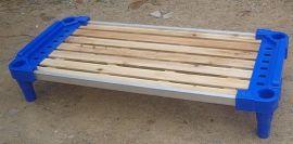 深圳新款安全免漆实木板婴儿床