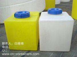 安徽40L方形加药箱/塑料加药箱/异形药箱/防腐溶药箱生产厂家