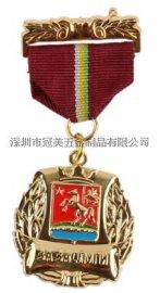 高档金属徽章定做 胸章定制 班徽 异形勋章 校徽徽章制作