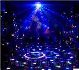 LED水晶魔球灯 七彩旋转水晶魔球灯 KTV舞厅跳舞灯