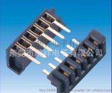 2500系列,P/H2.5MM 6PIN电池座 90度无防呆针长4.5电池连接器
