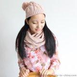 秋冬針織帽子圍脖二件套【金娟針織】