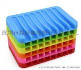 创意硅胶可沥水肥皂盒
