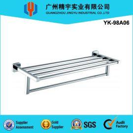 厂家直销/不锈钢豪华毛巾架 浴室置物高档毛巾架 YK-98A06