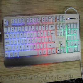 狄偉遊戲鍵盤金屬風暴