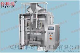 供应台科达大型组合秤包装机全自动立式包装机 翻领式颗粒包装机