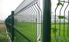 安平护栏厂草坪护栏网 三角折弯护栏网 隔离护栏网